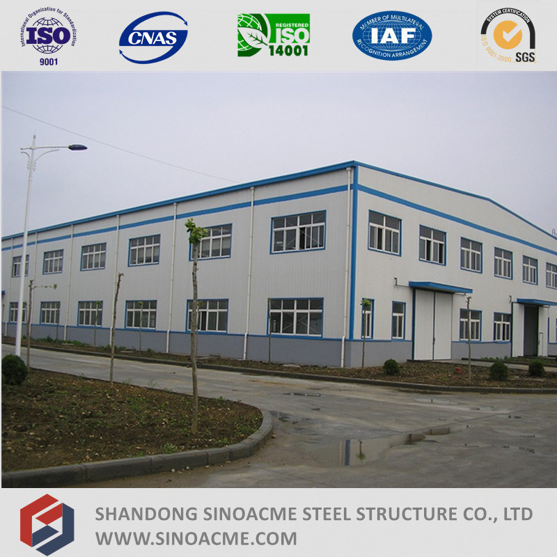 Multiple Story Workshop Steel Structure Manufacture