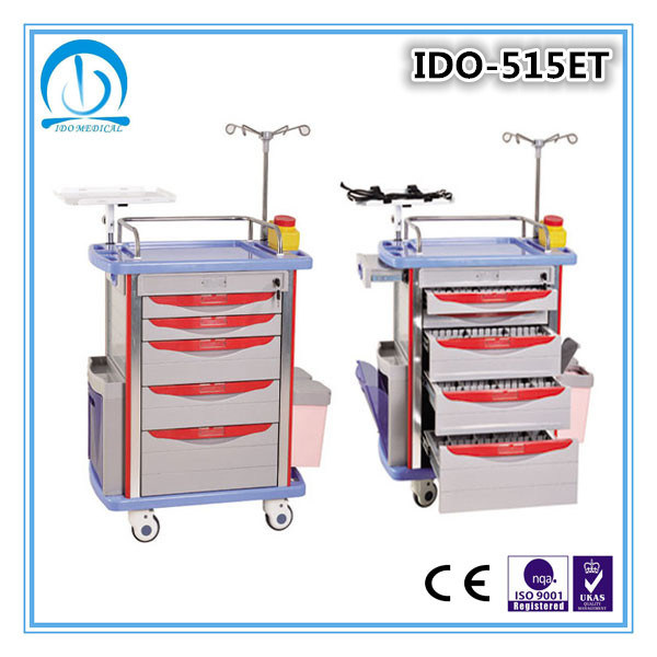 Hospital Medical Emergency Trolley