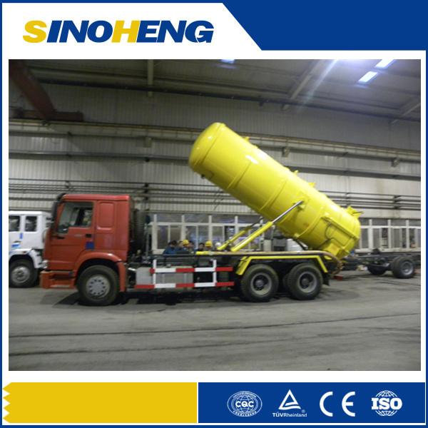 Sinotruk HOWO 6X4 Vacuum Sewer Cleaner Truck with 18cbm Tank