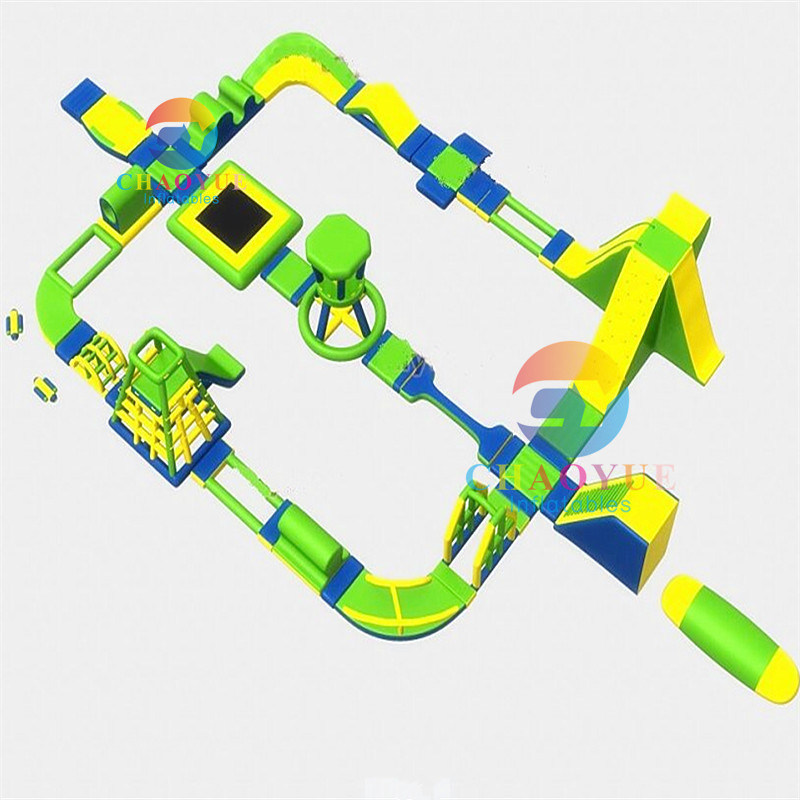 Inflatable Water Amusement Park, Inflatable Floating Water Park Equipment