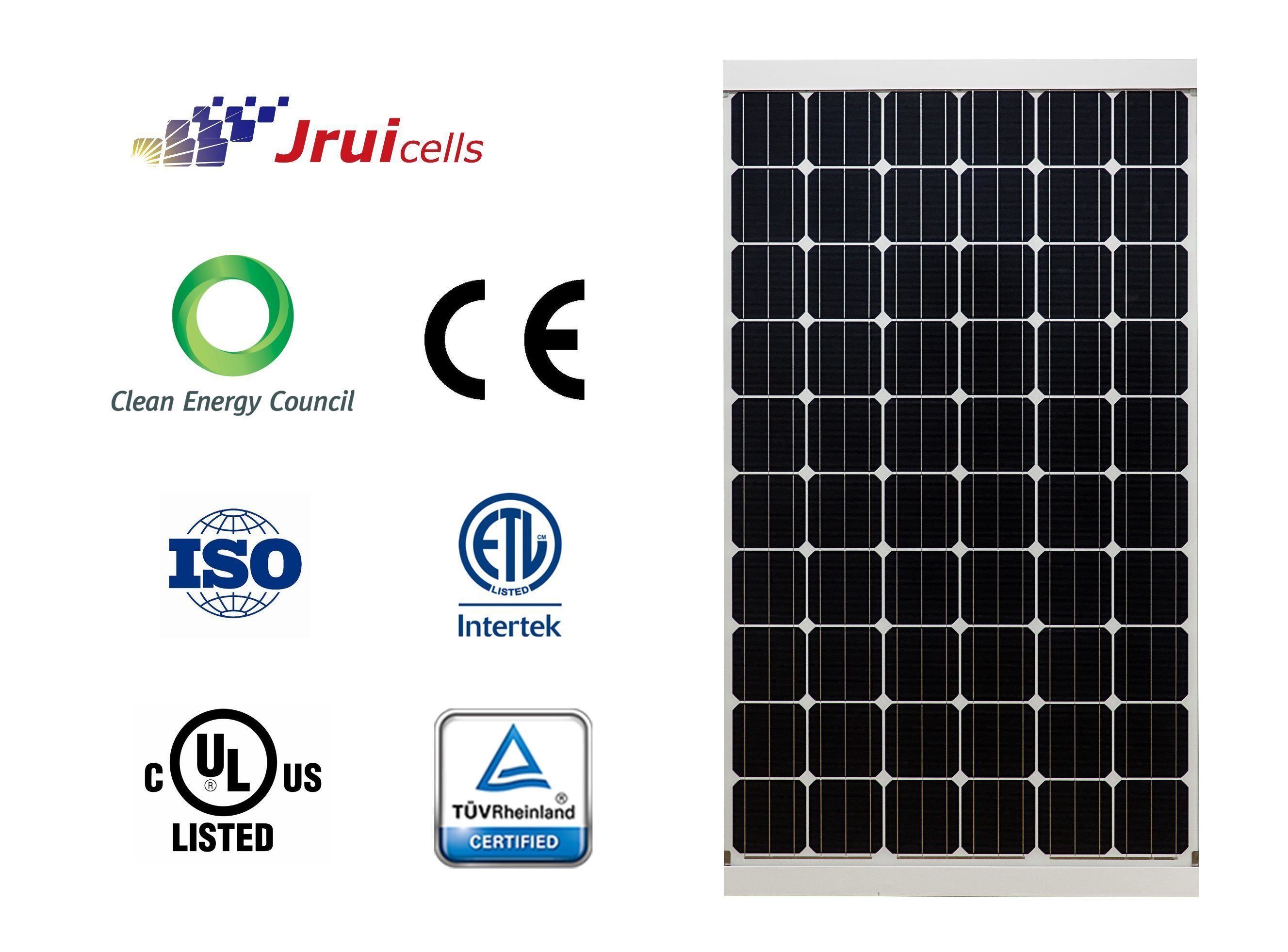 Anti-Salt Mist 270W Monocrystalline Silicon Solar PV Module for Rooftop PV Projects
