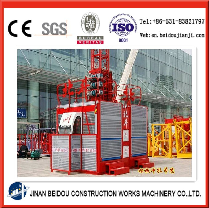 Construction Hoist for Passenger and Material with Cheap Price