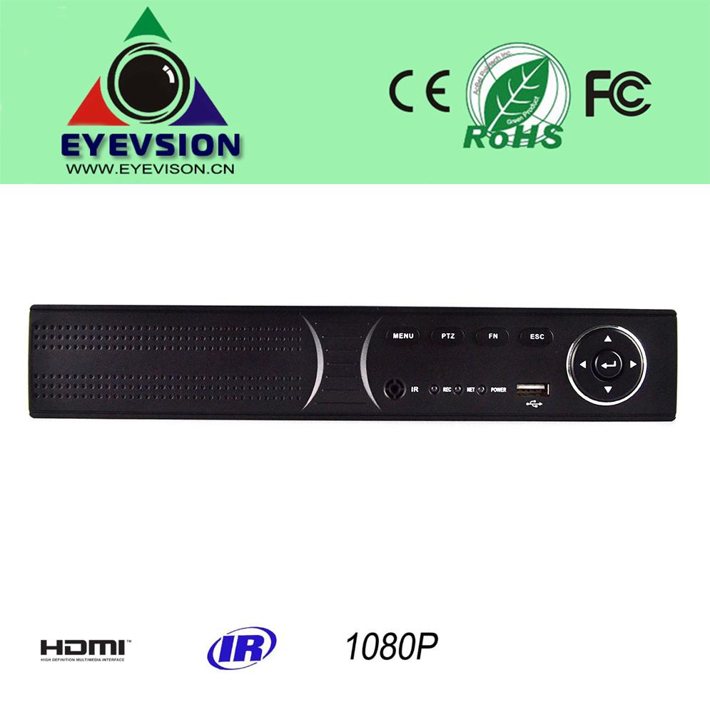 4CH H. 264 HD (1080P) IP Camera NVR (EV-CH04-H1404A)