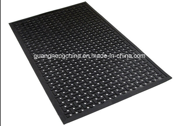 china 1 inch thick rubber kitchen mat gym floor cover