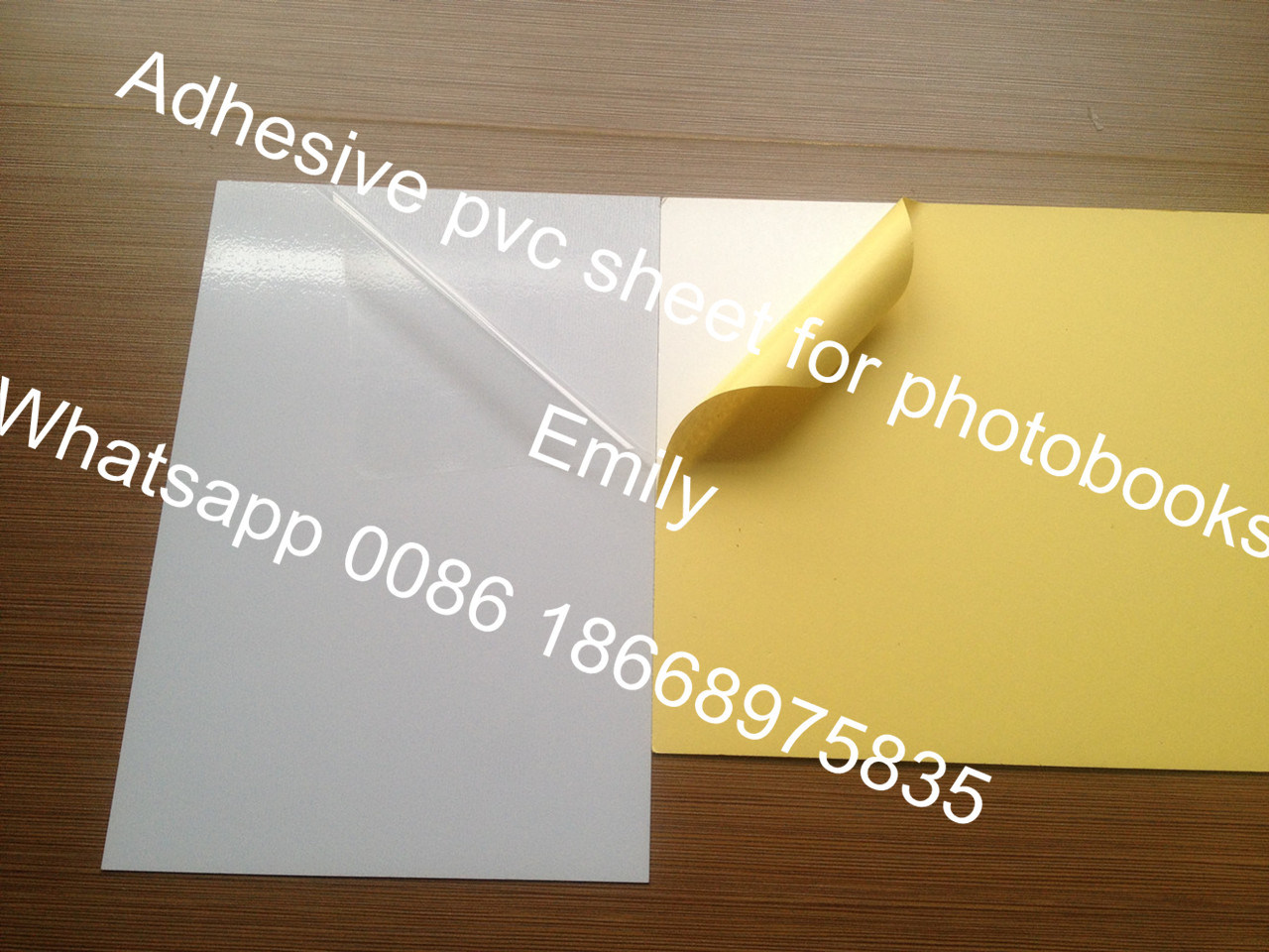 Good Hardness Self-Adhesive PVC Sheet to Make Album