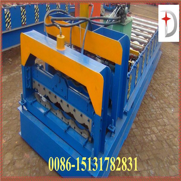 Dx Glazed Tile Roll Forming Machine 1050 Model