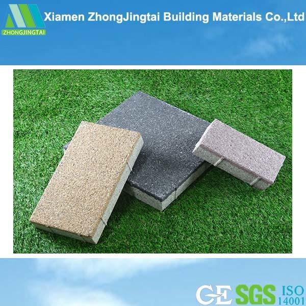 Permeable Ceramic / Porcelain Paving Tile for Exterior Road Floor Decorative