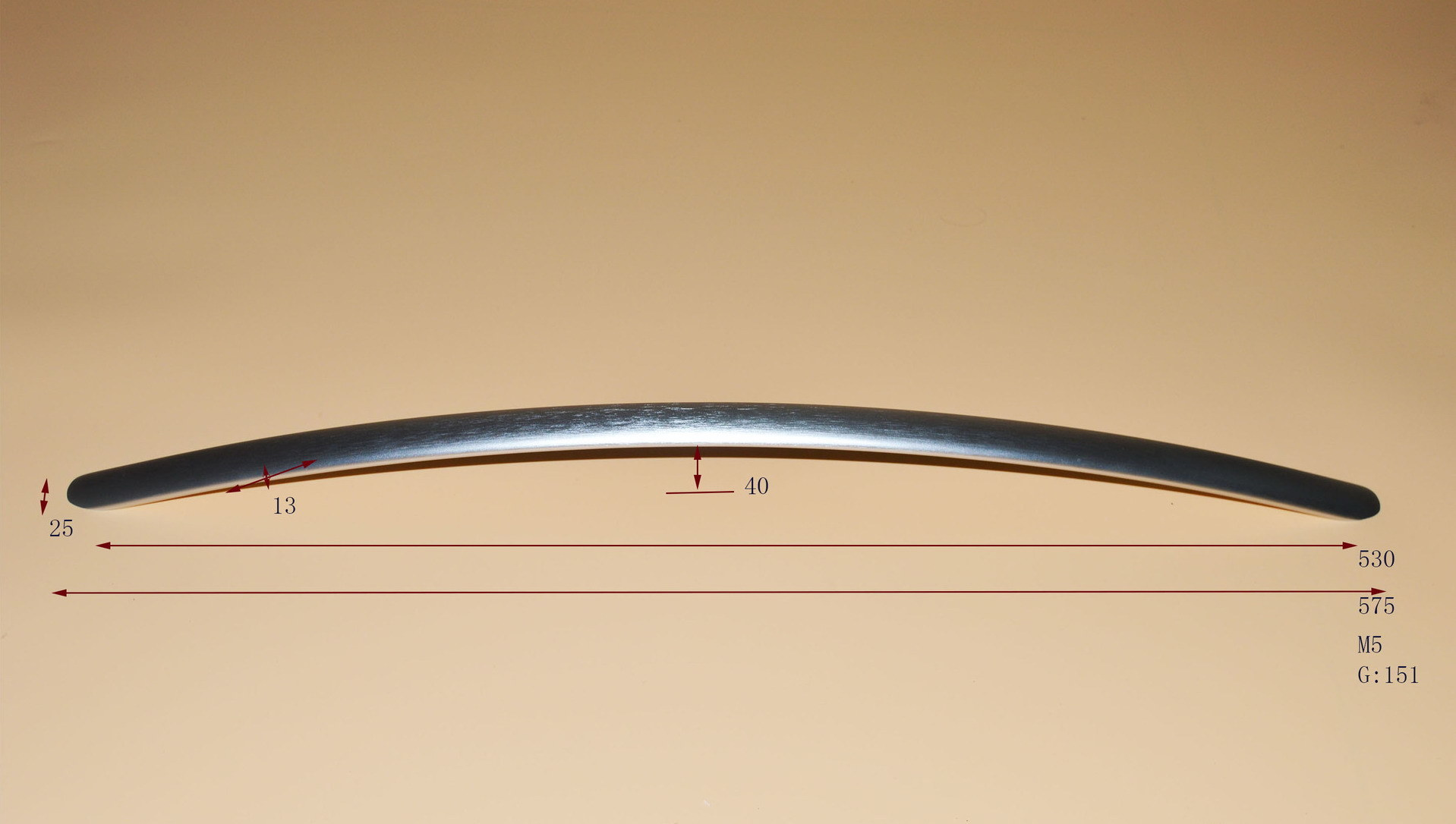 Aluminum Handle for Refrigerator Door Stainless Steel Handle
