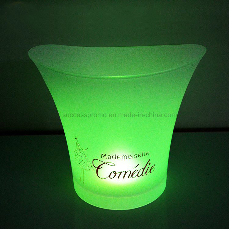 5L Colorful Water-Proof LED Ice Bucket for Champagne Wine Beer