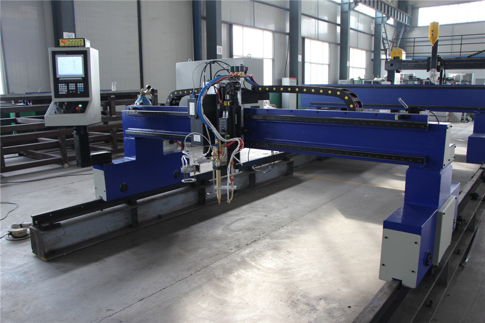 Qgi Economical Double-Side Driven Gantry-Type CNC Cutting Machine
