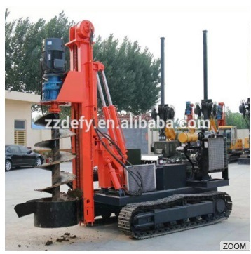 Dfr-7c Crawler Mounted Diesel Pile Hammer for Solar Energy, Photovoltaic PV System