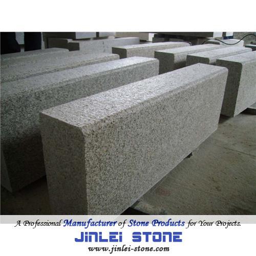 G603 Grey Chinese Natural Granite Pavers Kerb Road Stone Curbstone