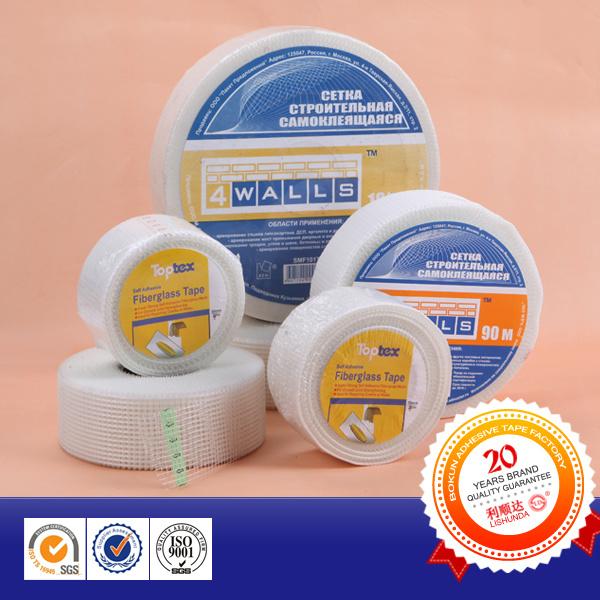Alkali Resistant Waterproof Material Adhesive Fiberglass Mesh Tape