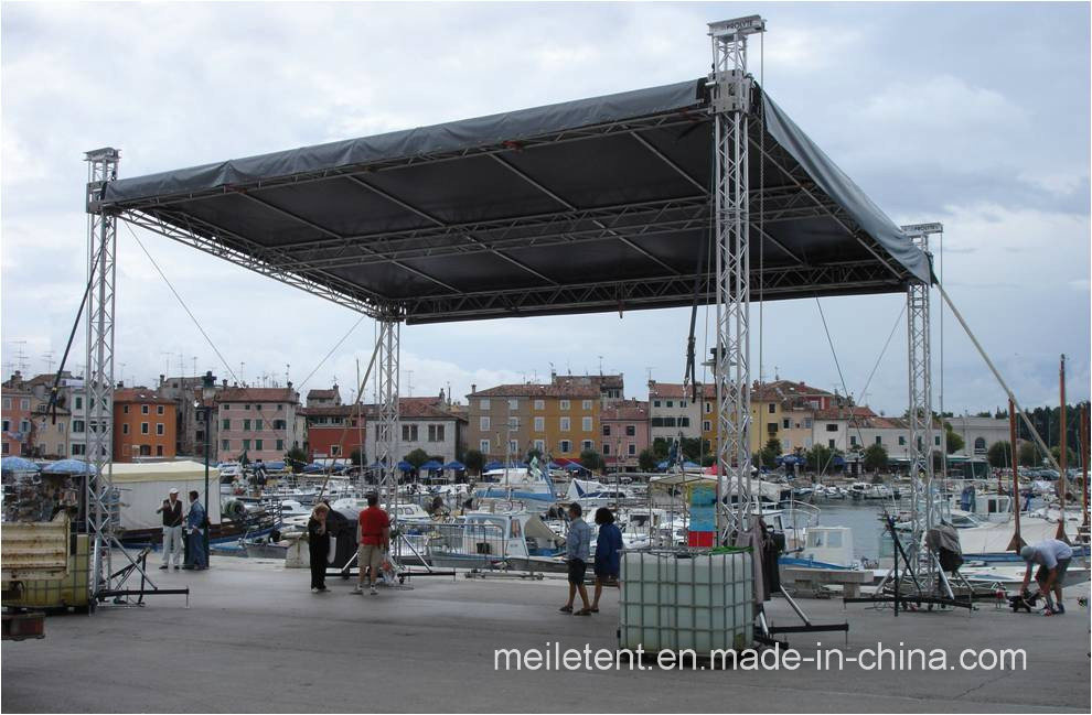 Lighting Tower and Outdoor Stage Truss Circle Truss Spigot Roof Truss