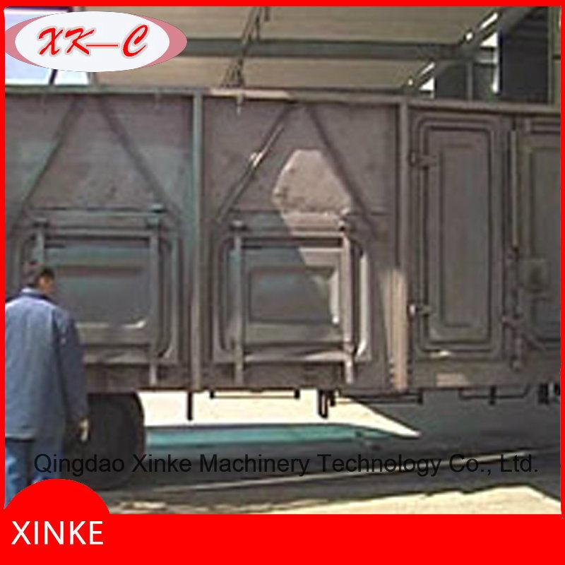 Container Work Car Shot Blasting Machine Qwh30