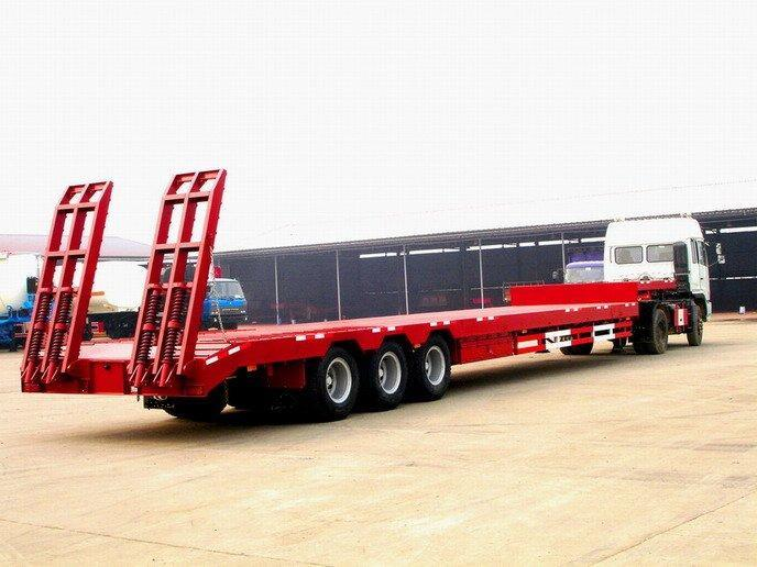 Transportation Vehicle Lowbed Semitrailer