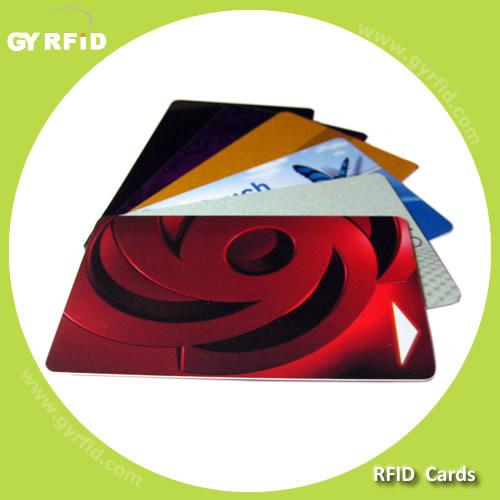 RFID Lf Em4100 Em4102 T5577 Hf Nfc S50 S70 Ultralight Icode Sli PVC Smart Card