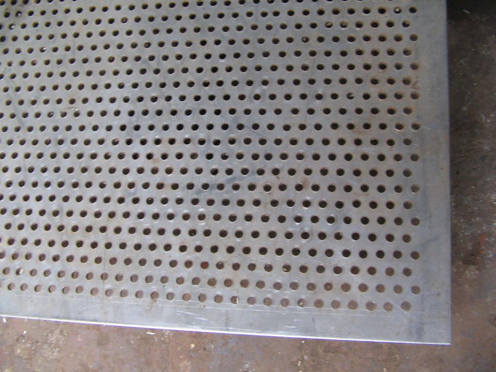 Aluminum Sheet Oval Perforated Aluminum Sheet