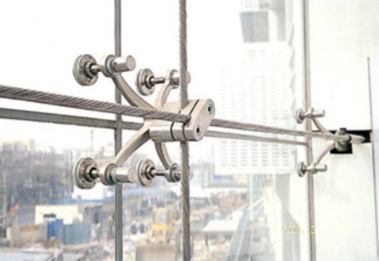 Types Of Curtain Wall Systems : China single layer cable net type curtain wall