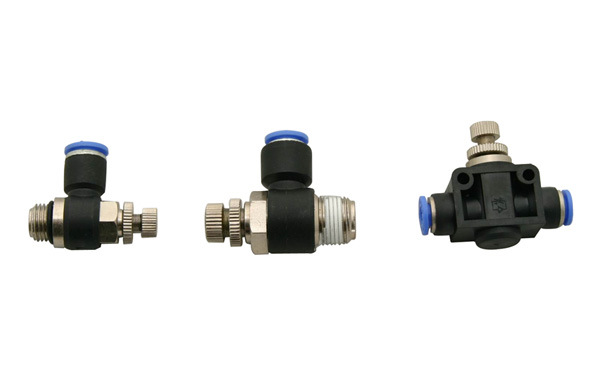 China speed controller pneumatic fittings one touch