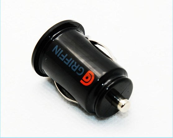 Griffin Car Charger: China Griffin Dual Micro/Mini USB Car Charger For IPhone 4