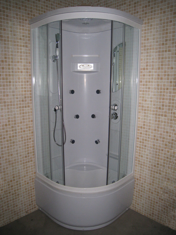 Bathroom Design Steam Mini Economic Small Bath Cabin 800mm
