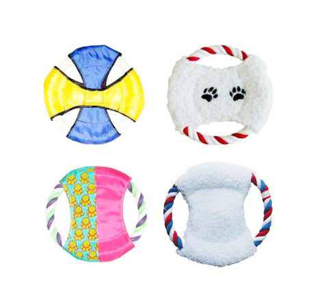 Rope Ring Plush Toy Pet Toy Suitable for Chew and Bite