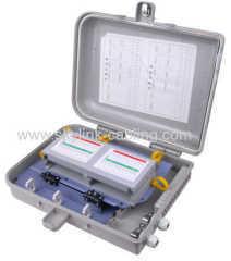 Fiber Optic Terminal Box- Fiber Distribution Box- FTTH Distribution Box