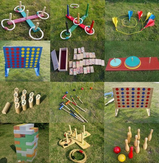 China wooden garden games china garden games wooden toys for Garden design game