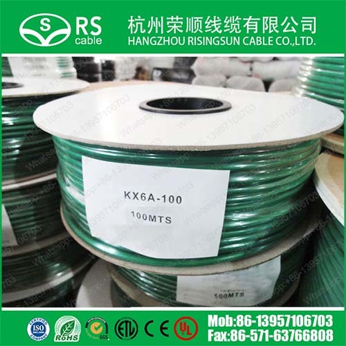 75ohm Green Kx6/Kx6a Coaxial Cable for CCTV