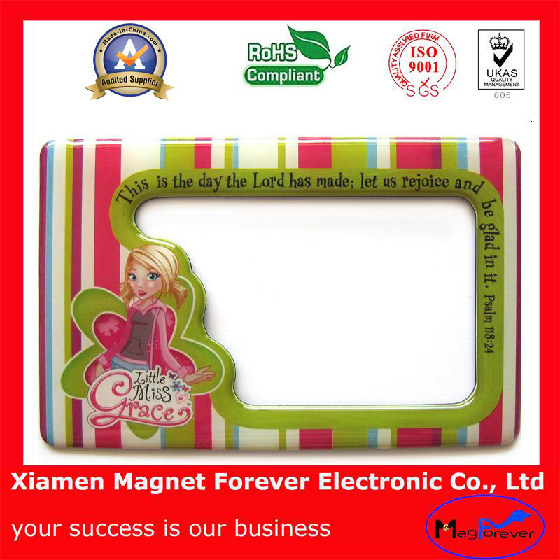 Plastic/Polyresin/Soft Rubber Cartoon Photo Magnet for Kids