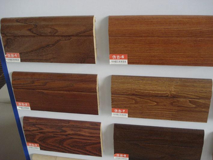 China wood skirting shdq 35 china wood skirting skirting for Wood skirting