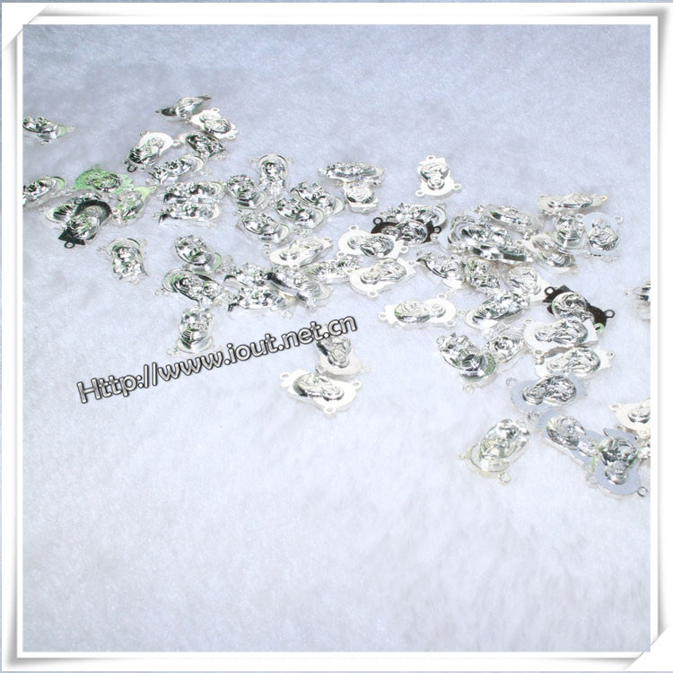 Catholic Rosary Decorative Metal Cross Pendants (IO-ap202)