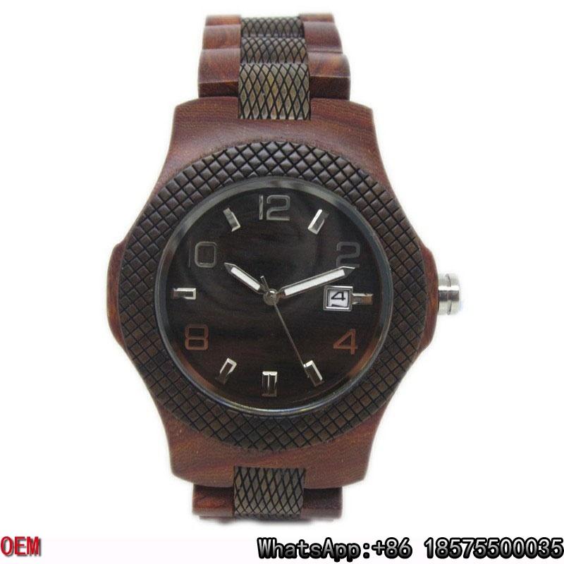 Top-Quality Wooden Watch Quartz Watch Hl28