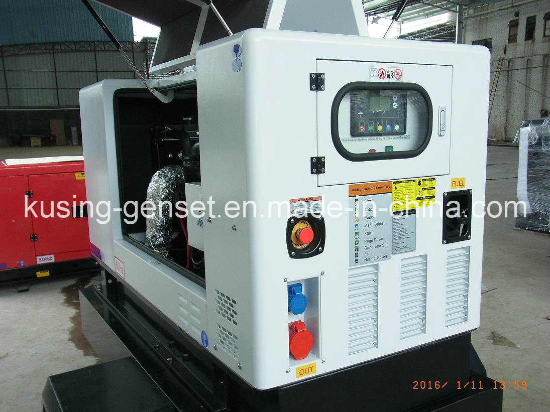 Pk30080 Diesel Silent Soundproof Generator Series with Portable Mobile Trailer