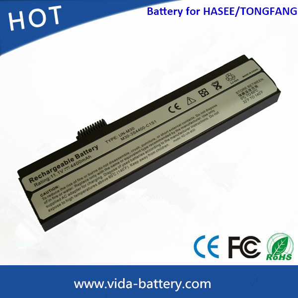 Laptop Battery for Tongfang Laptop M300 M30-3s4400-C1s1 Power Bank