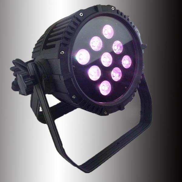 9PCS LED Disco Stage Outdoor LED PAR Light (HL-025)