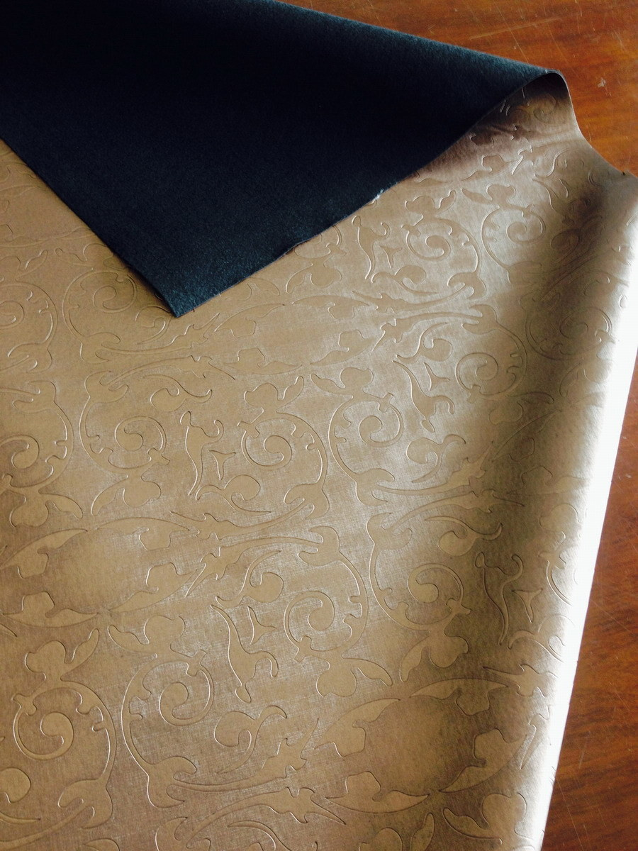 Classic Embossed Synthetic PVC Leather for Furniture!