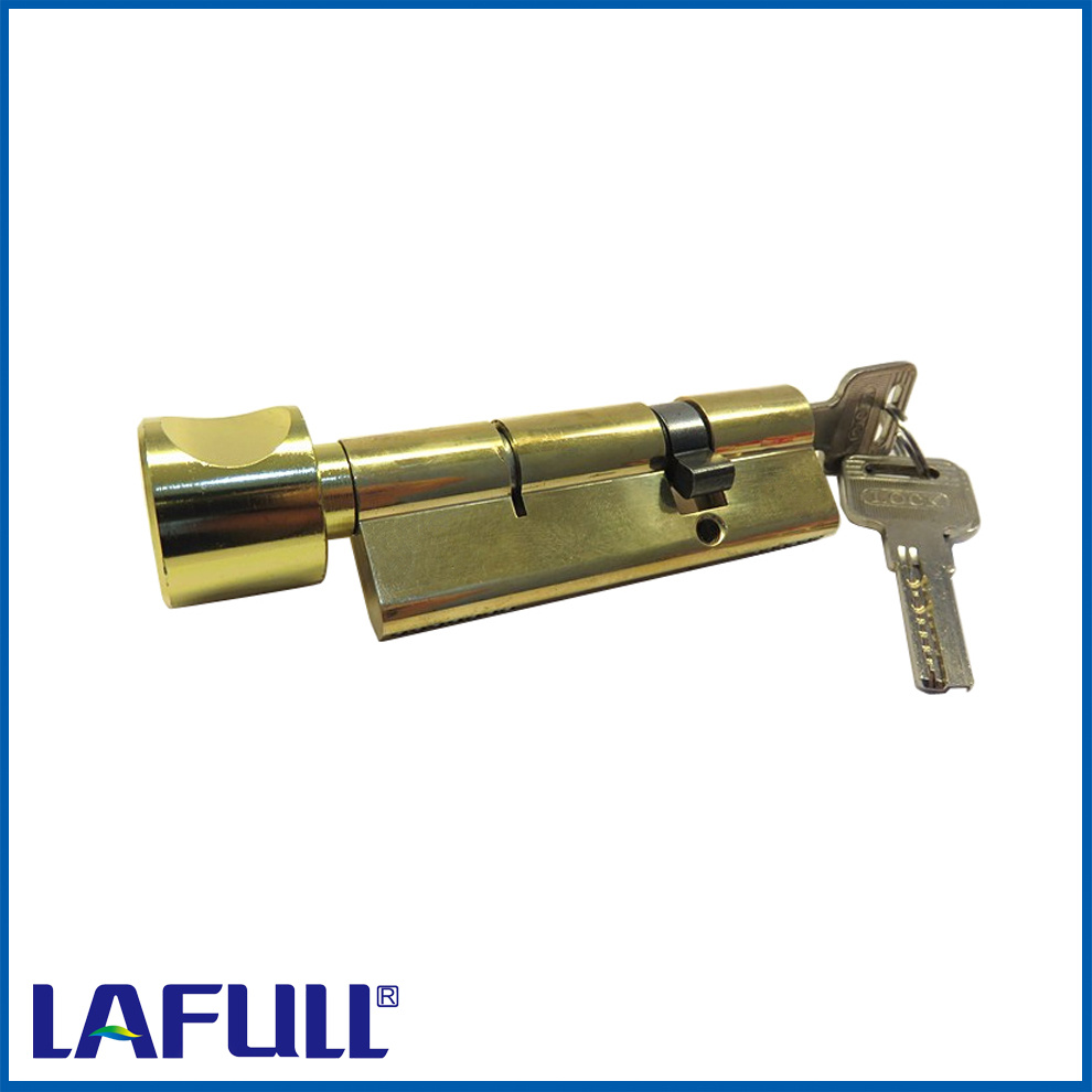 90mm Single Open Security Door with Knob Lock Cylinder