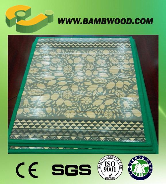 New! Office Bamboo Chair Mat