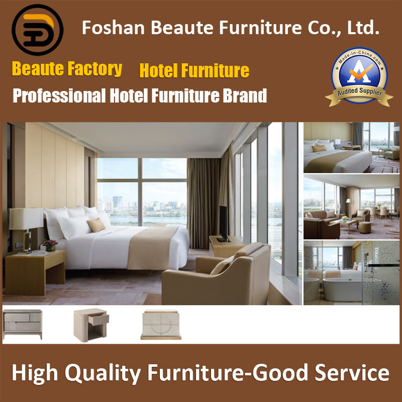 Hotel Furniture/Luxury King Size Hotel Bedroom Furniture/Restaurant Furniture/King Size Hospitality Guest Room Furniture (GLB-0109815)