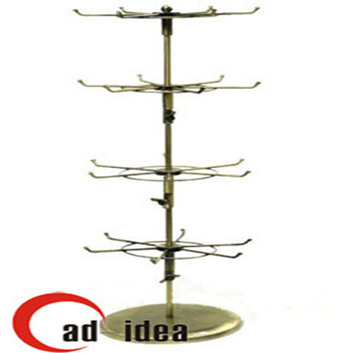 Ceramic Tiles Showroom Metal Push and Pull Display Stand