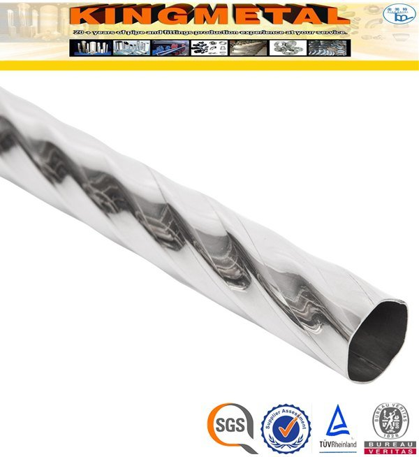 ASTM A554 304 Polish 200# Welded Stainless Steel Decorative Pipe