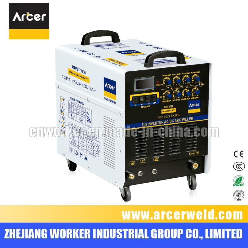 Mosfet Inverter Multi-Functions AC DC Pulse TIG/MMA Welding Machine