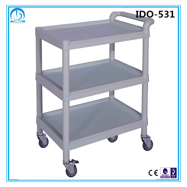 Ce ISO Approved Hospital Medical Trolley Cart