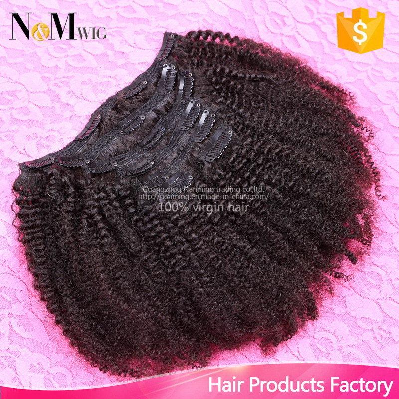 Brazilian Virgin Hair Clip in Human Hair Extensions (QB-CLI-CC)