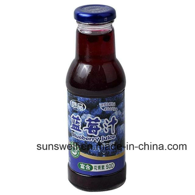 Latest Technology Full Automatic Beverage Drink Blueberry Filling Machine