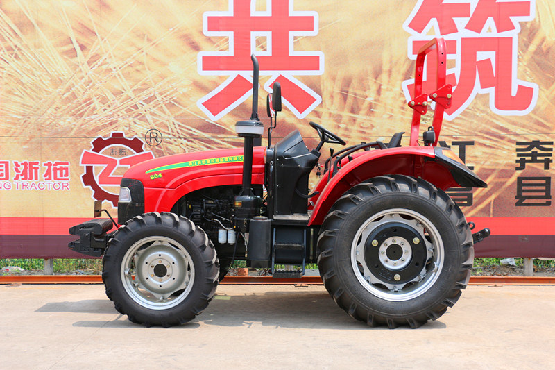 80HP 4WD 804 Farm Tractor Agricultrual Tractor Factory