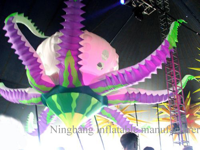 2016 Hotsale Nb Real Works High Quality Oxford Cloth Custom Make Inflatables 2m 3m Inflatable Flowers Inflatable Decoration for Events