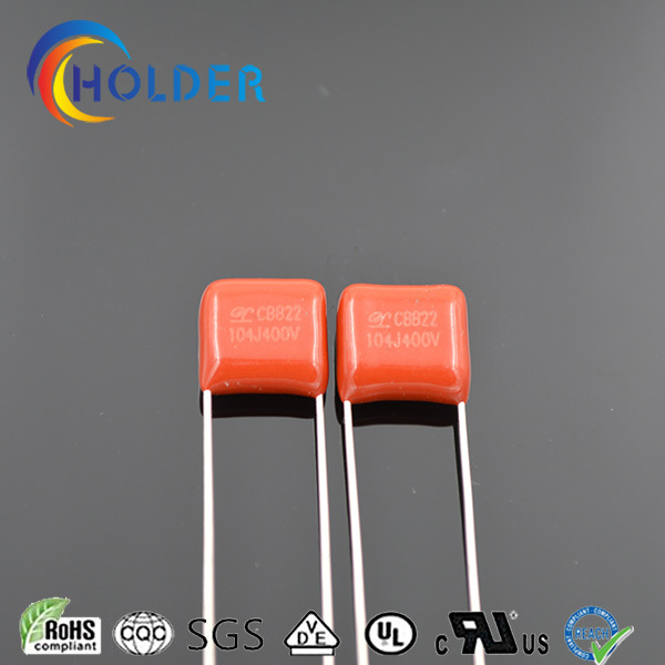 Minature Size Film Capacitor (CBB22 104J/400V)